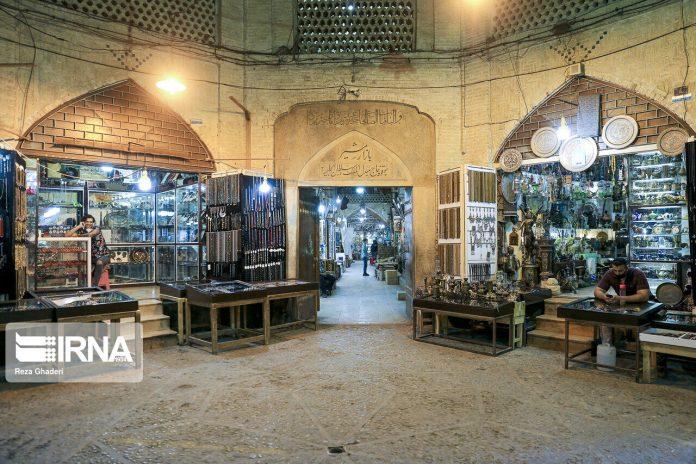 Shiraz Vakil Bazaar in Iran