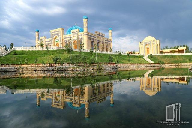 Sultan Uwais Qarani Complex in Namangan