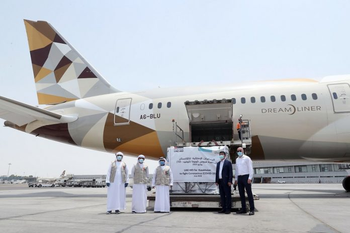 UAE delivers second batch of anti-coronavirus medical aid to Kazakhstan