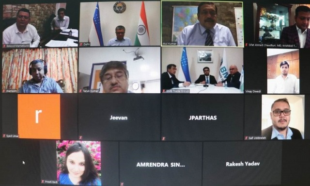 Uzbekistani, Indian and Bangladeshi businesspeople to implement joint projects