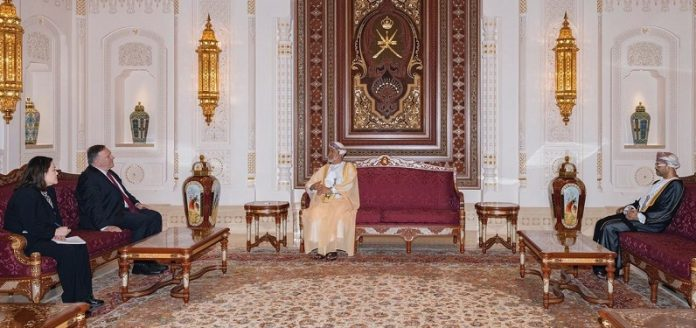 Sultan of Oman, US Secretary of State discuss bilateral cooperation