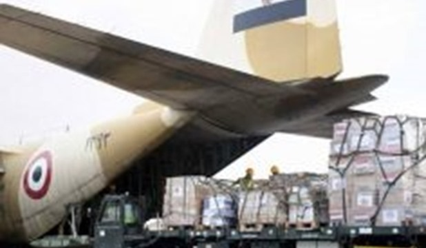 2 planes of Egyptian relief airlift arrive in Lebanon