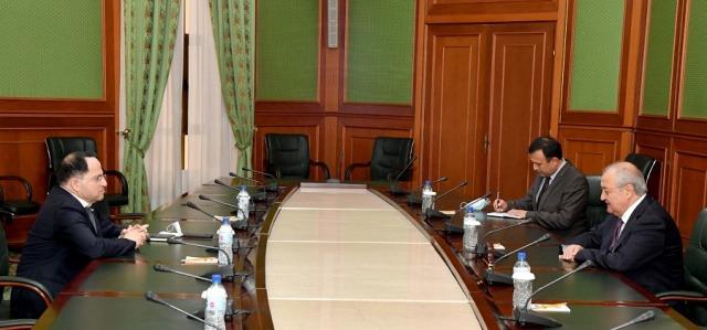 Abdulaziz Kamilov meets with the Ambassador of Israel