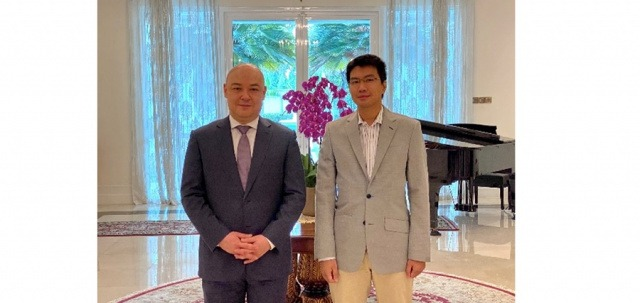 Ambassador of Uzbekistan holds talks with IDEAS Founder