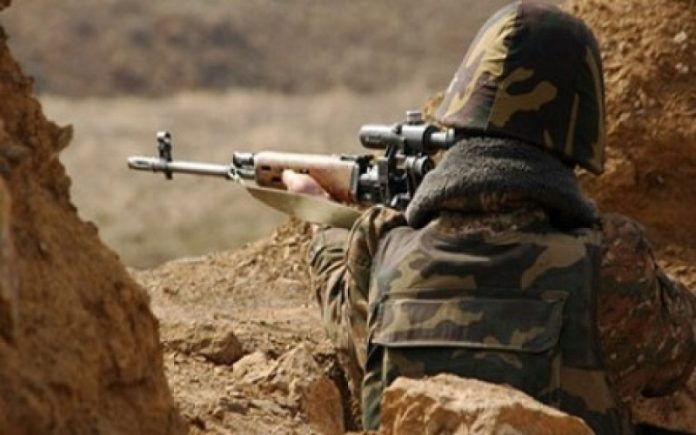 Armenian armed units violated ceasefire 41 times