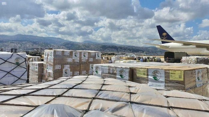 Fourth Saudi relief plane arrives in Beirut to help victims of Beirut's port explosion