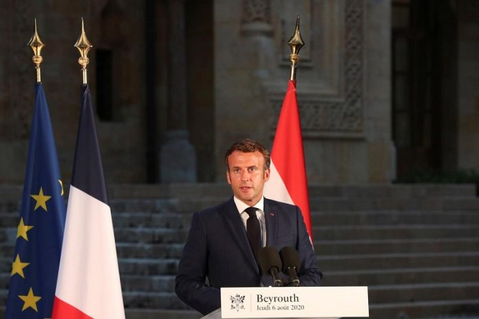 French president to host donor conference for blast-stricken Lebanon