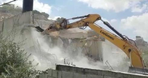 House demolitions in occupied Jerusalem continue at full force