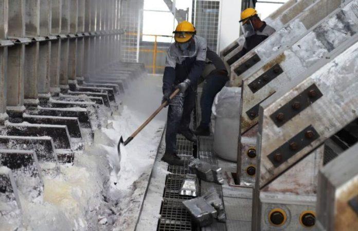 Iran ups aluminum output by 50%