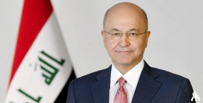 Iraqi president affirms support for snap parliamentary elections