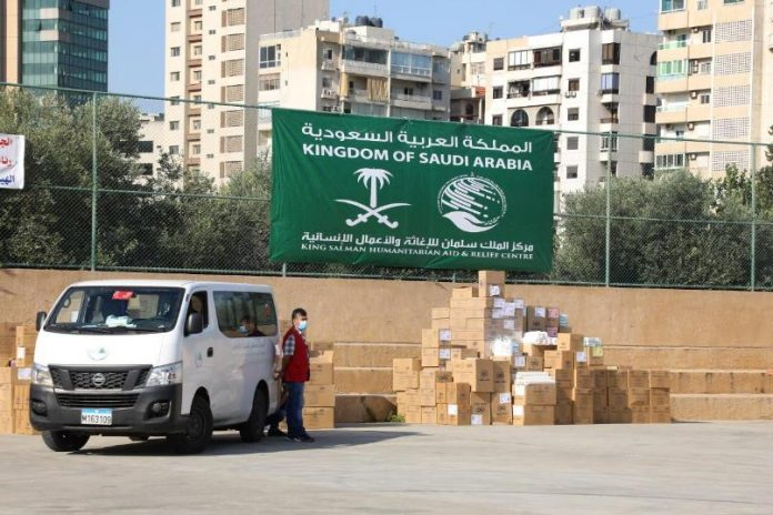 KSrelief delivers medical supplies to 8 Lebanese hospitals