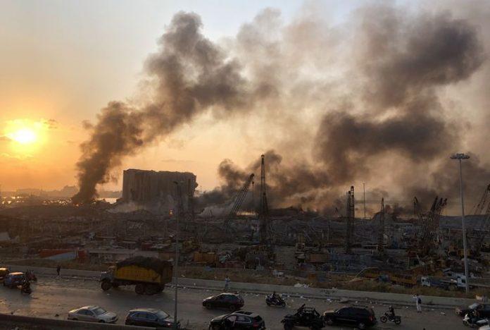 Beirut, Lebanon blast