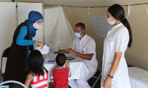 Moroccan military field hospital in Beirut offers over 3,200 medical services