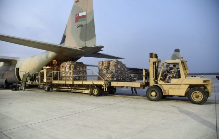Oman sends relief flights to Lebanon to mitigate effects of Beirut blast