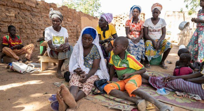 One million flee escalating violence in Burkina Faso