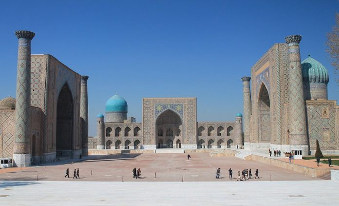Samarkand State University is the successor of Ulugbek Madrasah