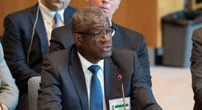 UN rights chief urges DR Congo to protect Nobel laureate Mukwege amid death threats