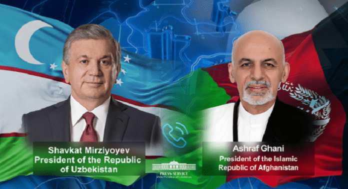 Uzbek, Afghan presidents discuss enhancing bilateral cooperation in multiple fields