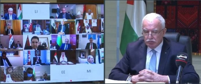 154th session of Arab League Council kicks off under chair of Palestine