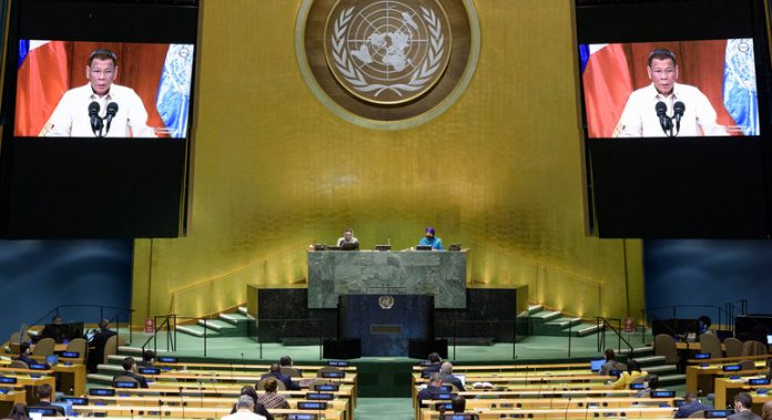 At UN General Assembly, Philippines' Duterte denounces groups 'weaponizing' human rights