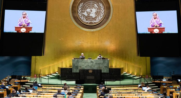 Bangladesh urges greater international action on Rohingya status