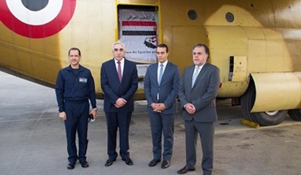 Egypt sends 12 tons of preventive supplies to Iraq