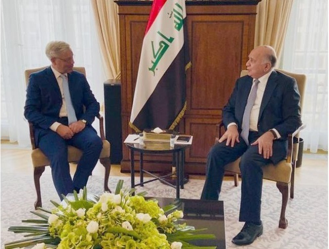 Iraq calls on Germany to continue its security support