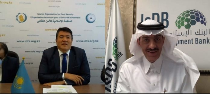 IsDB president, chief of Islamic Organization for Food Security discuss joint cooperation