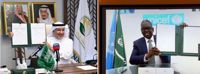 KSRelief signs agreement worth $46 million with UNICEF for Yemen