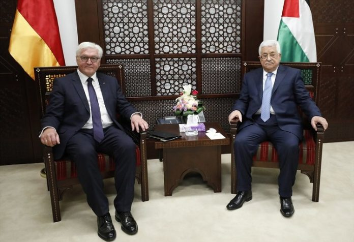 Palestinian president, German counterpart discuss latest political developments