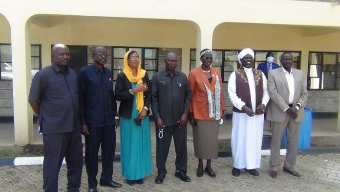 SSIC delegation brief South Sudan's VP on the campaign to support flood victims