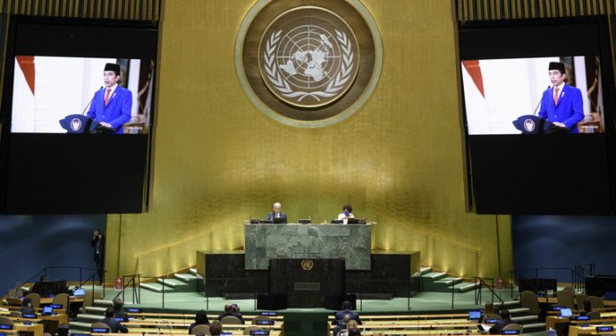 The UN is not a building in New York city, it is our commitment to future generations, Indonesian President tells world leaders