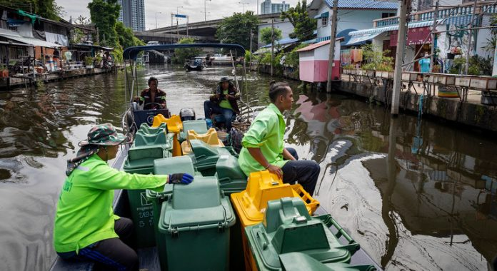 'Biocups', electric motorcycle taxis and recycling 500 billion bottles for a sustainable Thailand: a UN Resident Coordinator blog