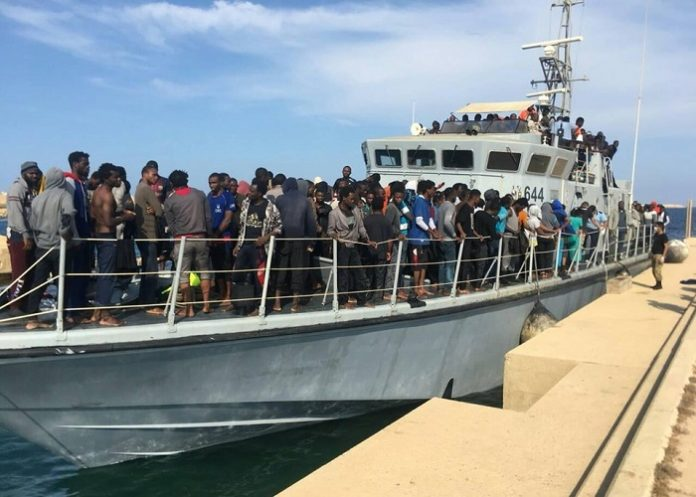 9,839 illegal migrants rescued off Libyan coast since the start of this year