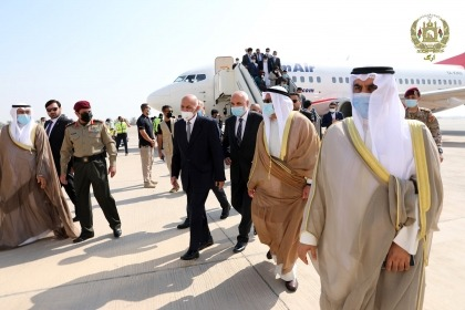 Afghani President Ghani arrives in Doha amid delay in peace talks