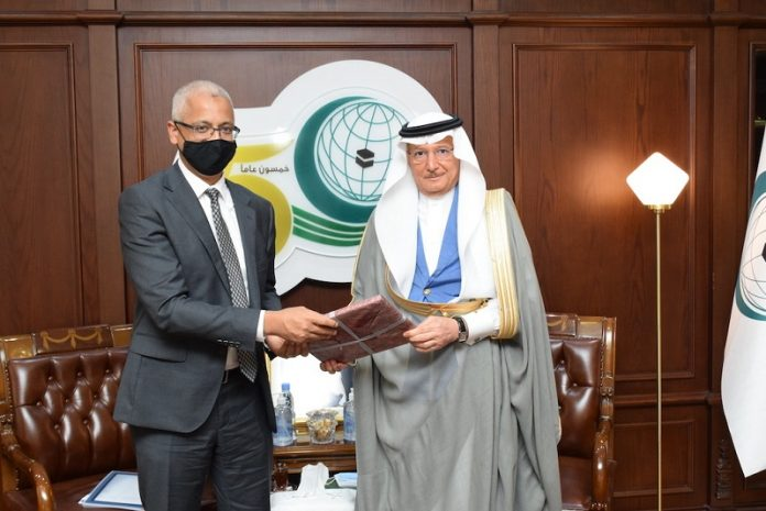 Al-Othaimeen receives Australia's Special Envoy to OIC