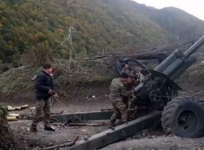 Azerbaijan accuses Armenian leadership of involving children in battles