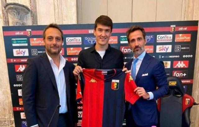 Eldor Shomurodov to continue his career in Genoa CFC