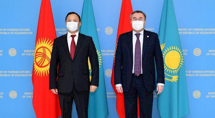 Kyrgyz and Kazakh FMs meet in Nur-Sultan