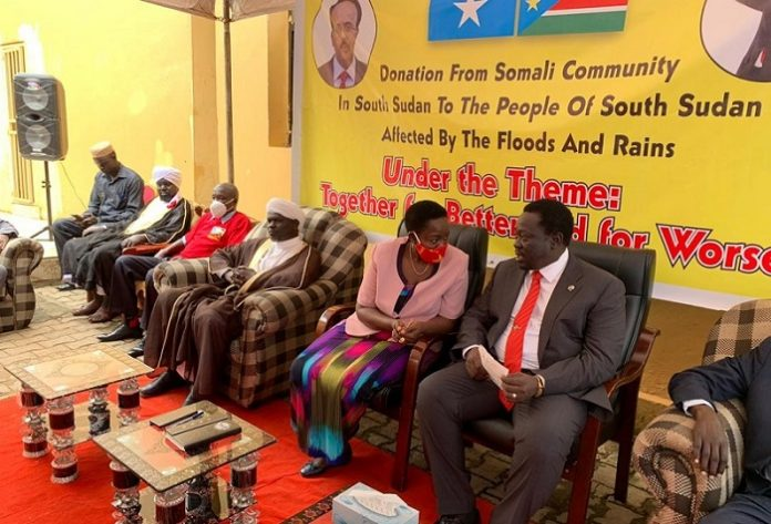 South Sudan Islamic Council conducts convoy of relief aid for flood victims in Mangala