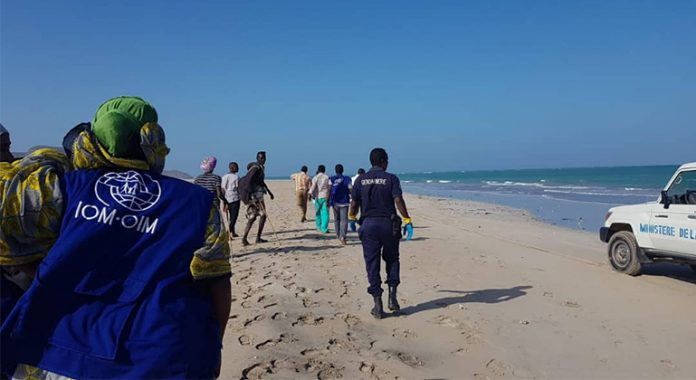 Twelve migrants dead, others missing off the coast of Djibouti: IOM