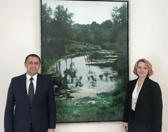 Uzbekistan Ambassador and Adviser to the President of Latvia discuss prospects for enhancing collaboration
