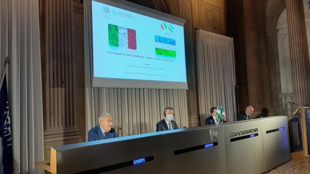 Uzbekistan, Italy businesspeople enhance collaboration