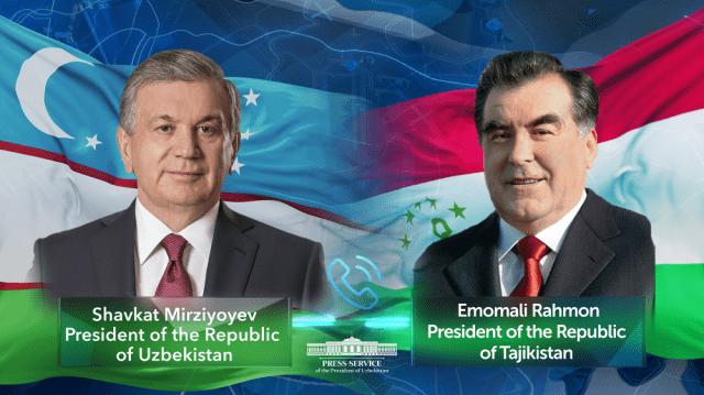Uzbekistan's President congratulates Tajikistan's President on victory in elections