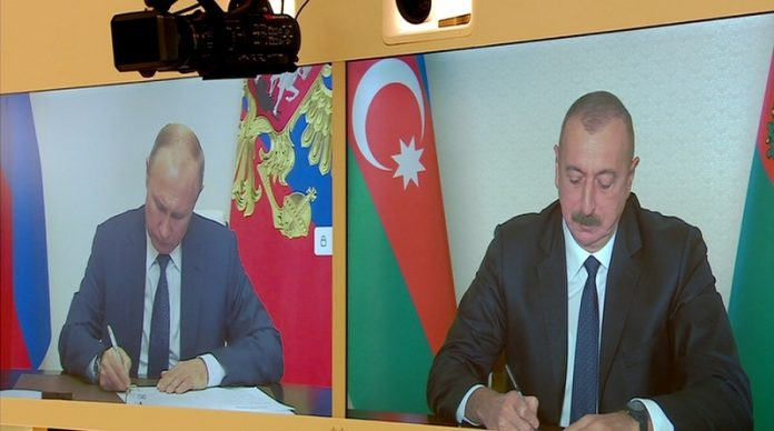 Azerbaijan, Armenia and Russia sign agreement to end Nagorno-Karabakh conflict