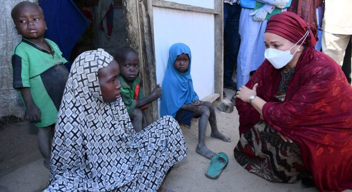 Displaced persons want to return home: Deputy UN chief, visiting north-east Nigeria