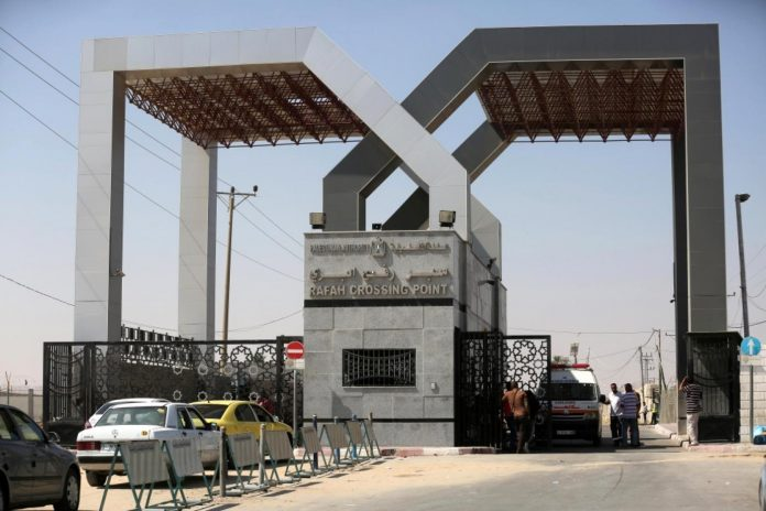 Egypt to open Rafah border crossing with Gaza