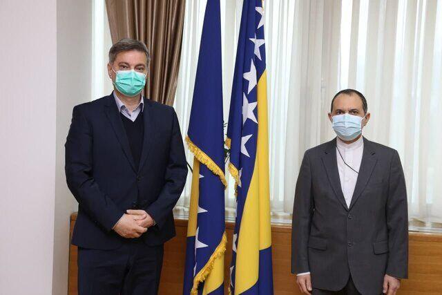Iran backs independence, development of Bosnia-Herzegovina: Envoy