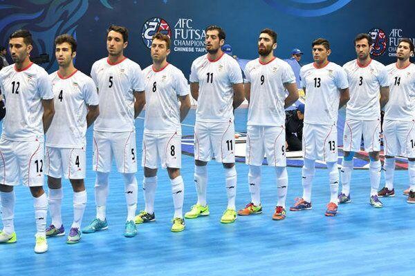 Iran's futsal keeps 1st, 6th rank in Asia, world
