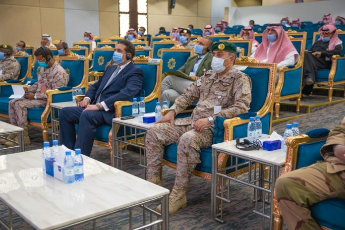 Islamic Military Coalition for Combating Terrorism holds